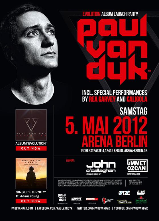 """Paul van Dyk-""""Evolution""""-Album-Launch-Party – heute in Berlin"""