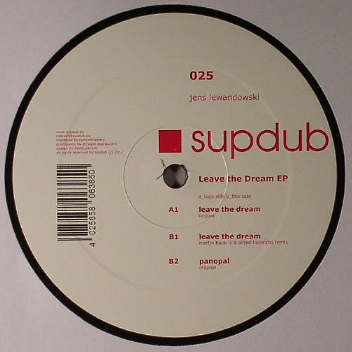 Jens Lewandowski – Leave The Dream EP (Supdub / Straight)