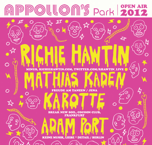 Appollon's Park mit Richie Hawtin, Mathias Kaden, Karotte & Adam Port
