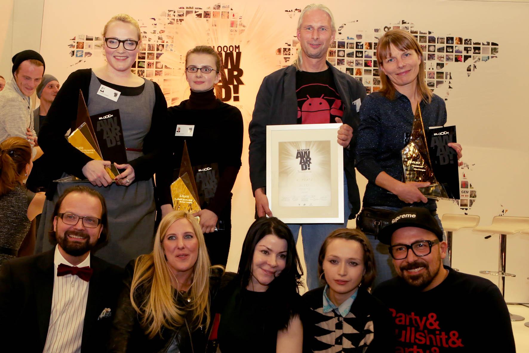 Die Gewinner des BLOOOM-Awards 2012 stehen fest