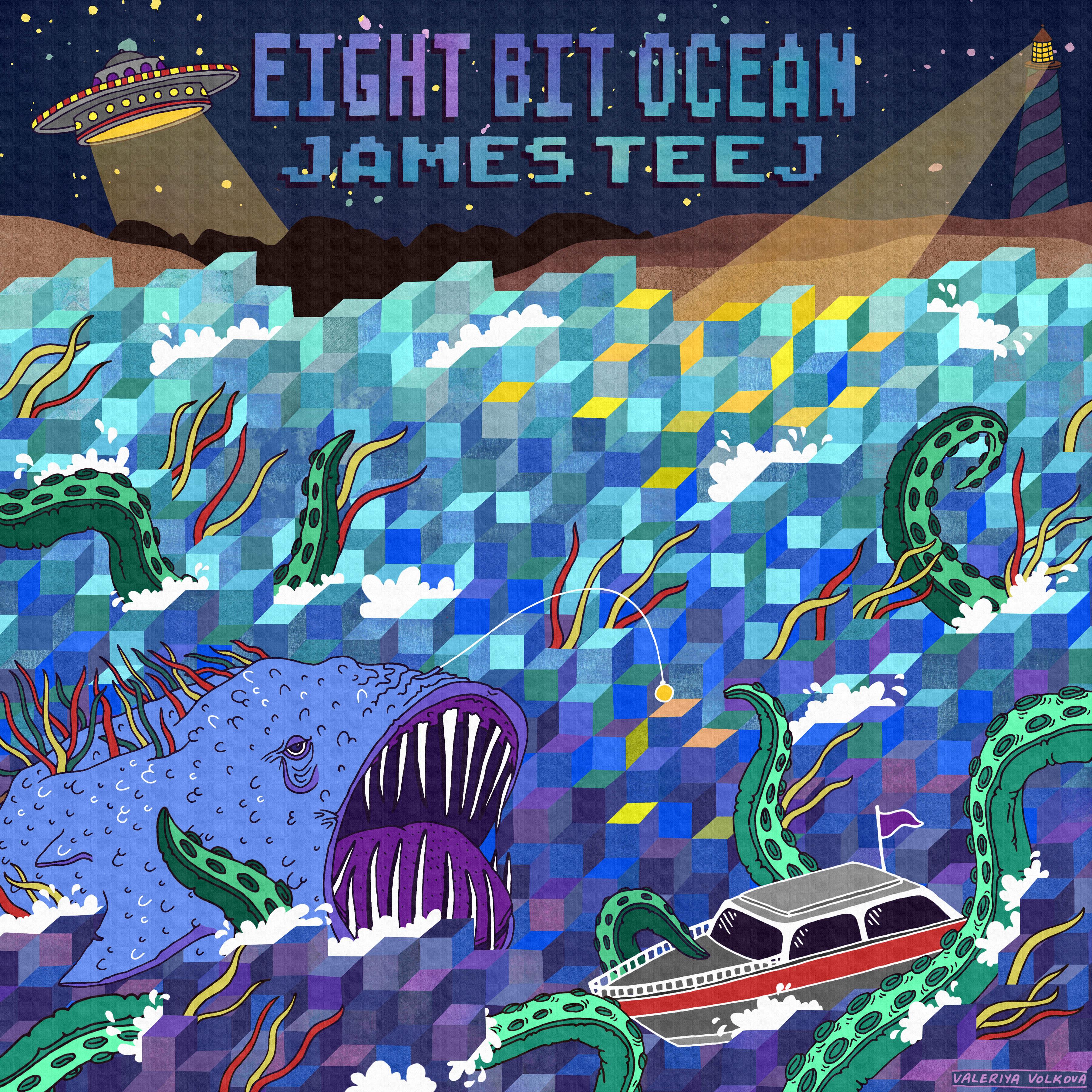 "James Teej taucht ab in den ""Eight Bit Ocean"""