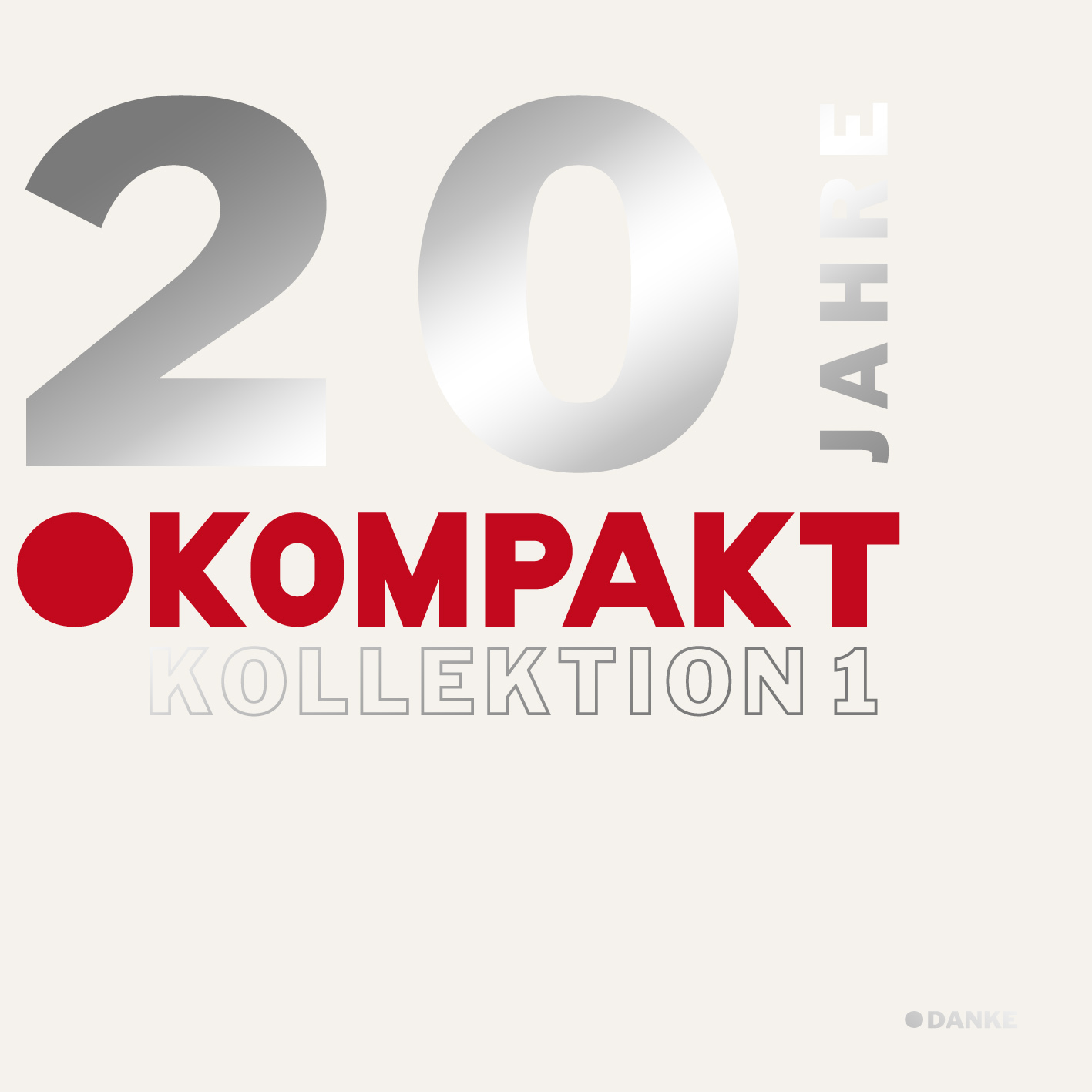 """20 Jahre Kompakt Kollektion"" – Teil 1 bald auf Doppel-CD"