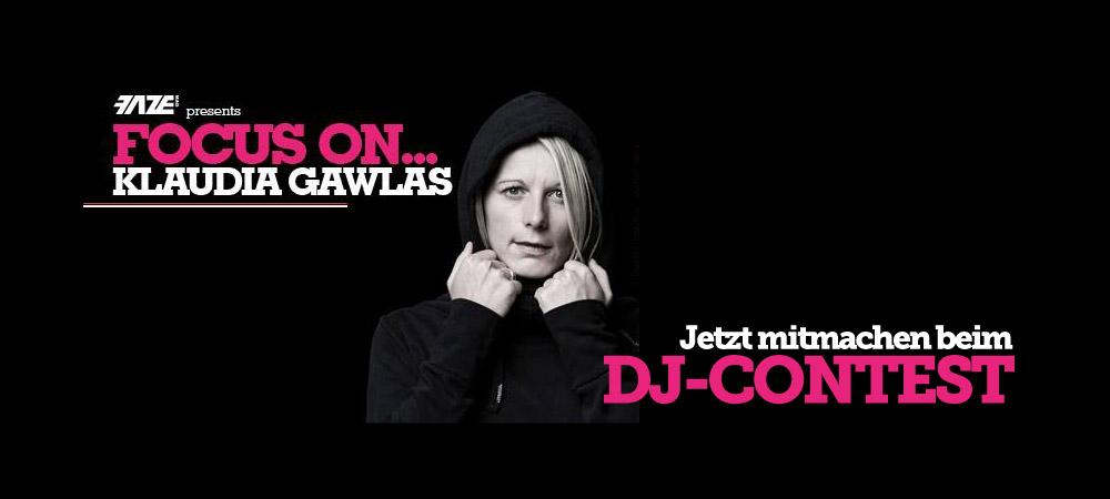 Focus On… Klaudia Gawlas – jetzt beim DJ-Contest mitmachen