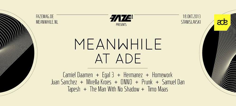 FAZEmag präsentiert: Meanwhile at ADE