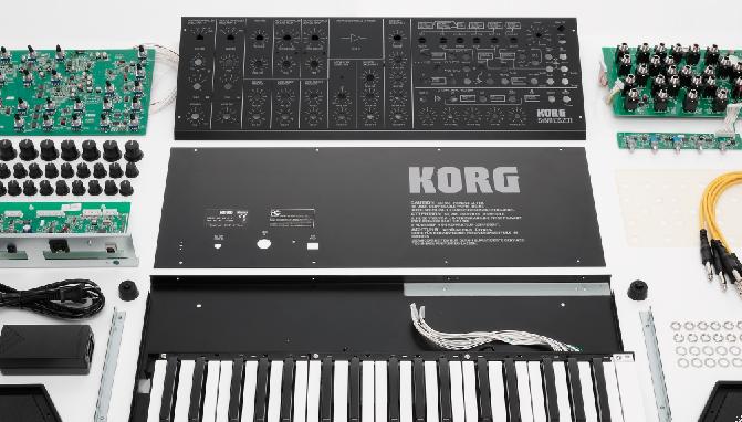 KORG MS-20 Kit – Do it yourself!
