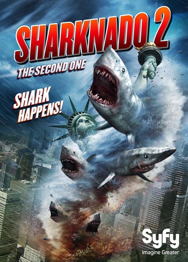 Sharknado 2 – jetzt an der Ostküste
