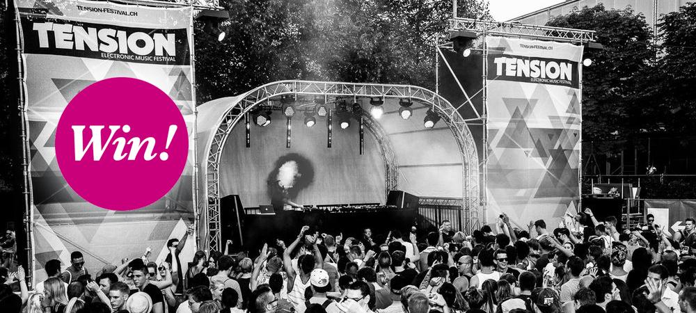 WIN: Tension Festival 2014 – Techno am Nationalfeiertag