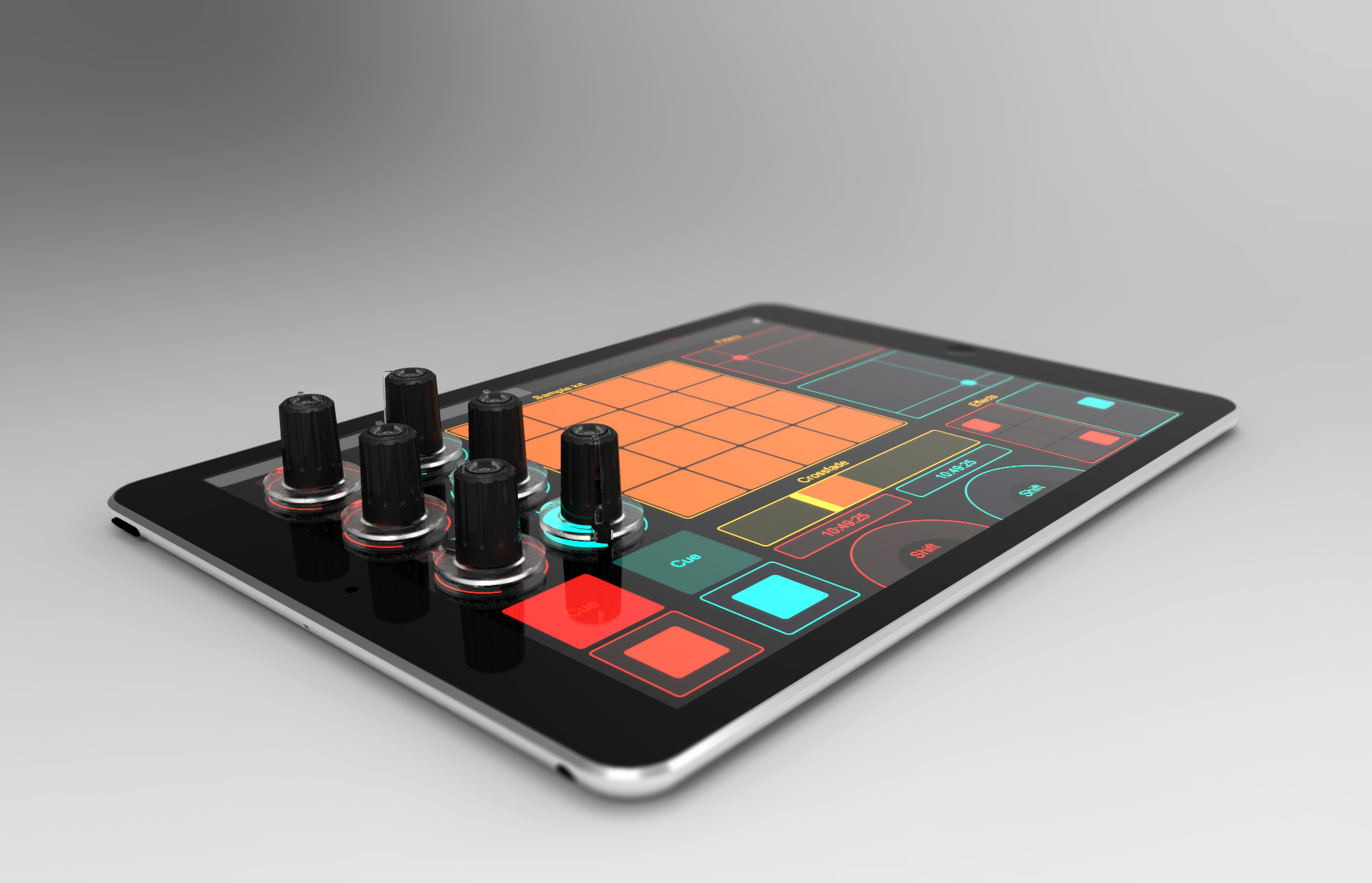 Tuna Knob – Encoder für Tablets