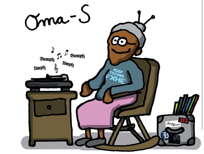 Gubis eher nicht so dolle DJ-Karikaturen: Omar-S