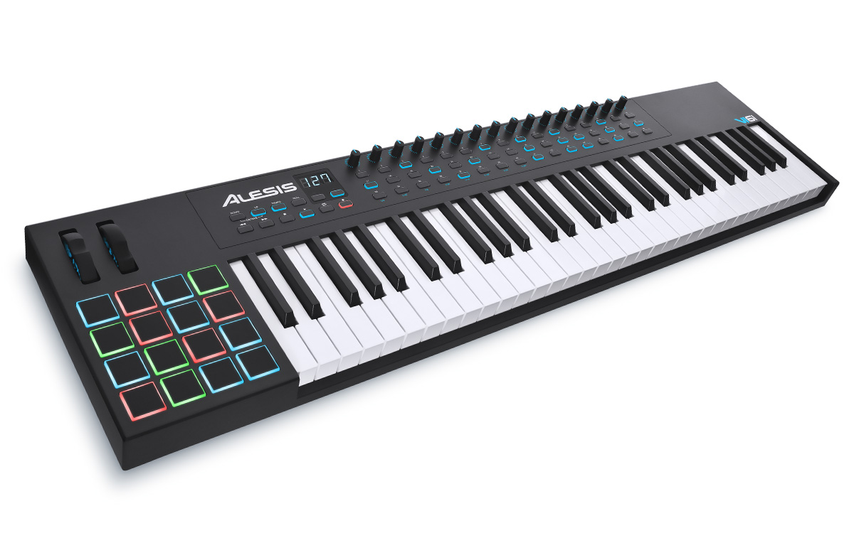 Alesis bringt Keyboards der V- und VI-Serie auf den Markt