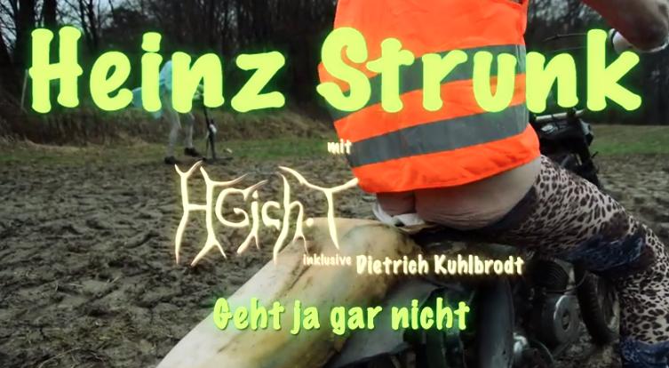 Heinz Strunk trifft auf HGich.T – das geht ja mal nun gar nicht, also …