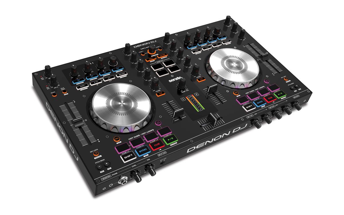 Denon stellt neuen DJ-Controller MC4000 vor