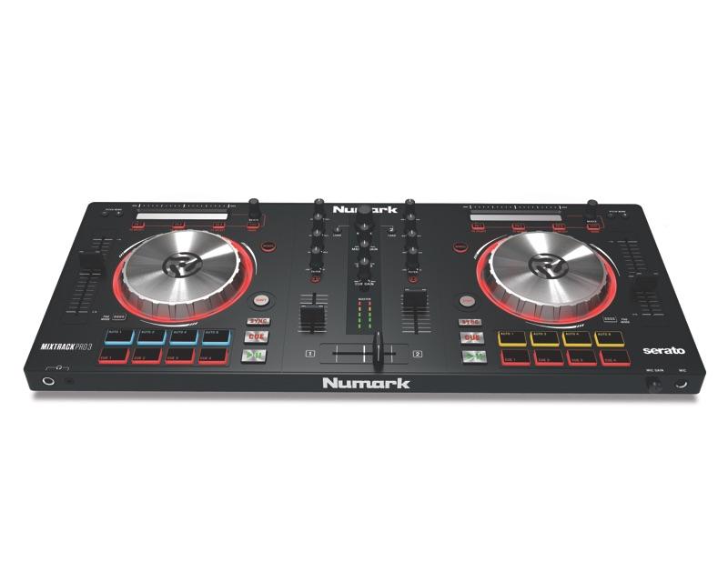 Numark stellt DJ-Controller Mixtrack Pro 3 und Mixtrack 3 vor