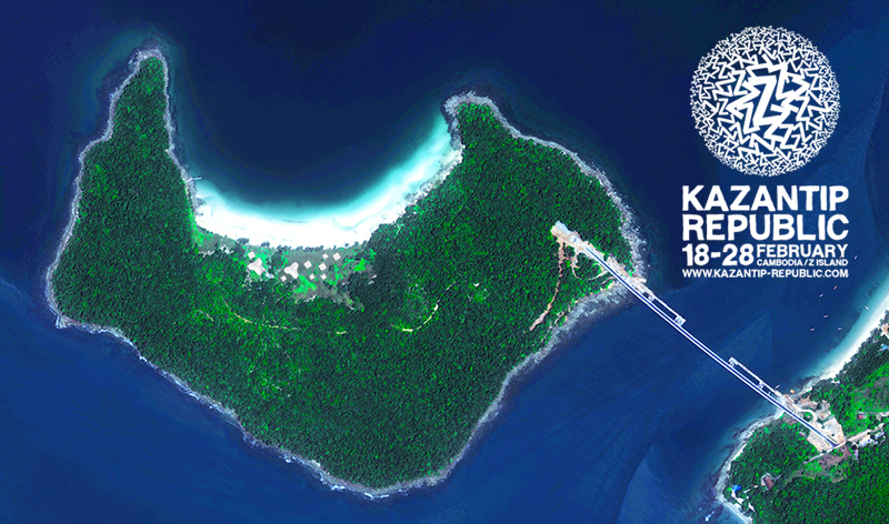 Nächster Halt der Republik Kazantip: Kambodscha