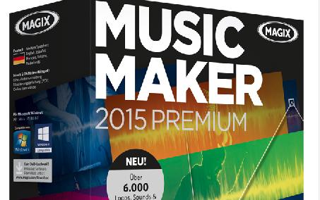 Magix Music Maker 2015 – Die günstige Alternative zu Profi-Sequenzersoftwares