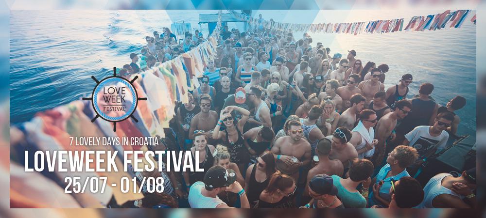 Loveweek Festival in Kroatien – Line-up vervollständigt!
