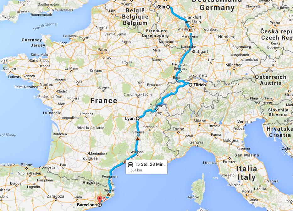 Tour de Club 2015 – wir ziehen eine Runde durch Europa