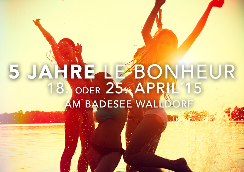 5 Jahre Le Bonheur Open Air am Badesee Walldorf