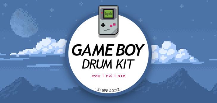 Game Boy Drum Kit – kostenloses Sample Kit von BPB