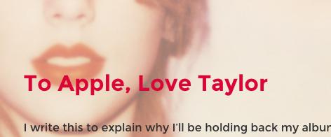 Taylor Swift bekehrt Apple (Music)