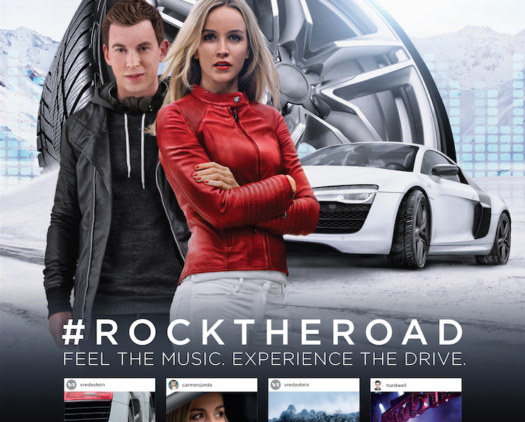 #rocktheroad – Hardwell rockt die Straße