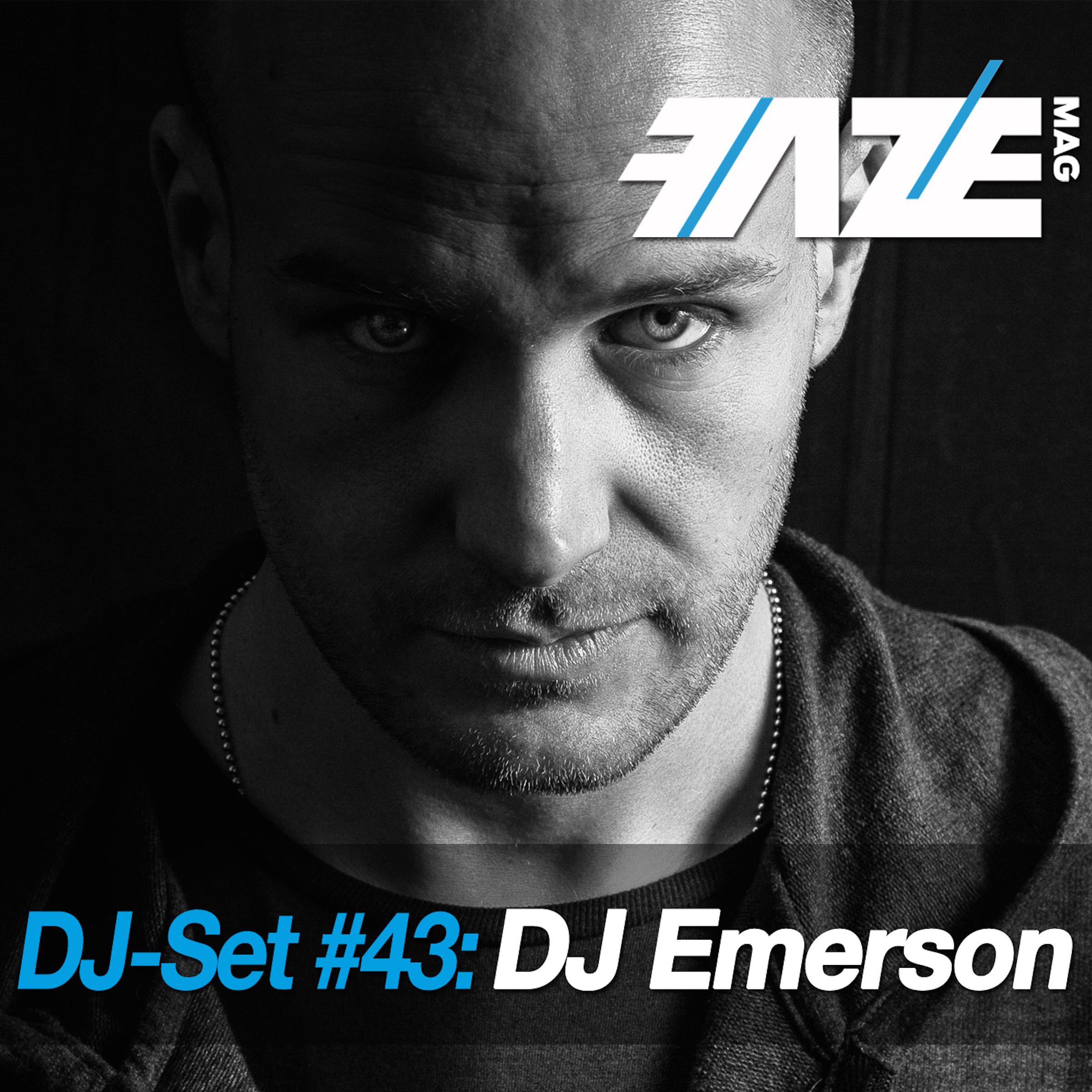 FAZEmag DJ-Set #43: DJ Emerson – exklusiv bei iTunes