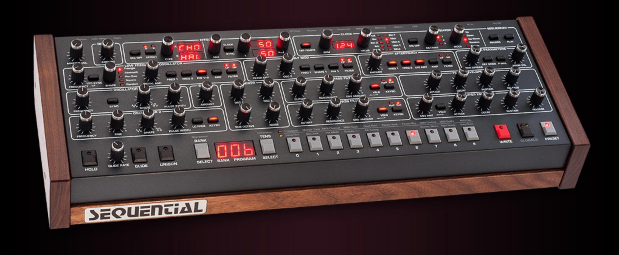 Dave Smith Instruments kündigt eine Desktop-Modul-Variante des Prophet-6 an