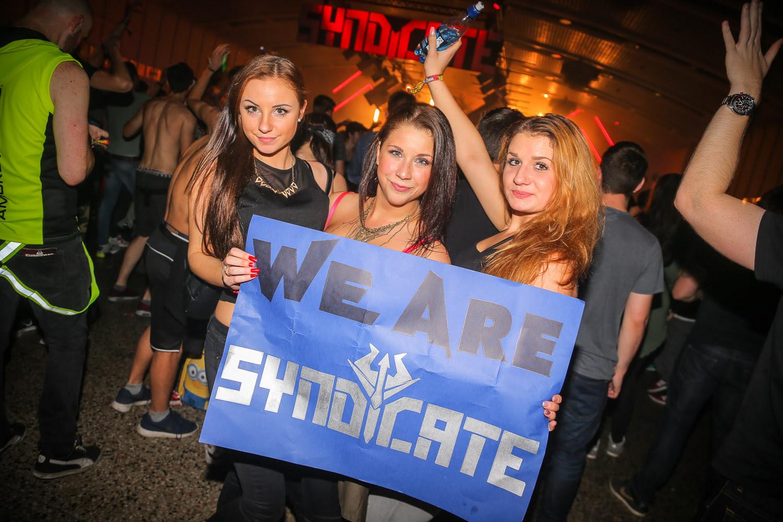 20.000 Besucher bei Syndicate!