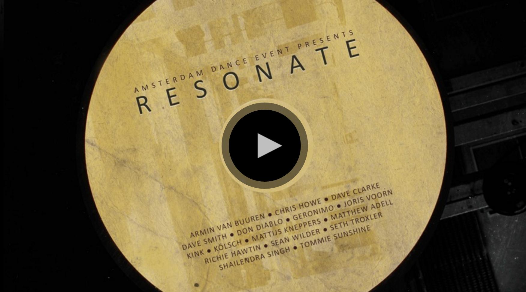 RESONATE: Kurz-Dokumentation des Amsterdam Dance Event