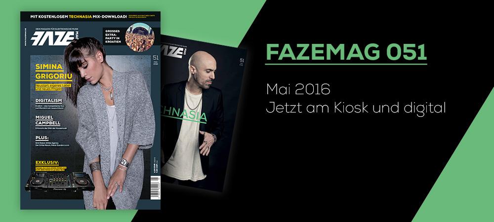 FAZEmag 051 – am Kiosk und als eMag für iOS und Android