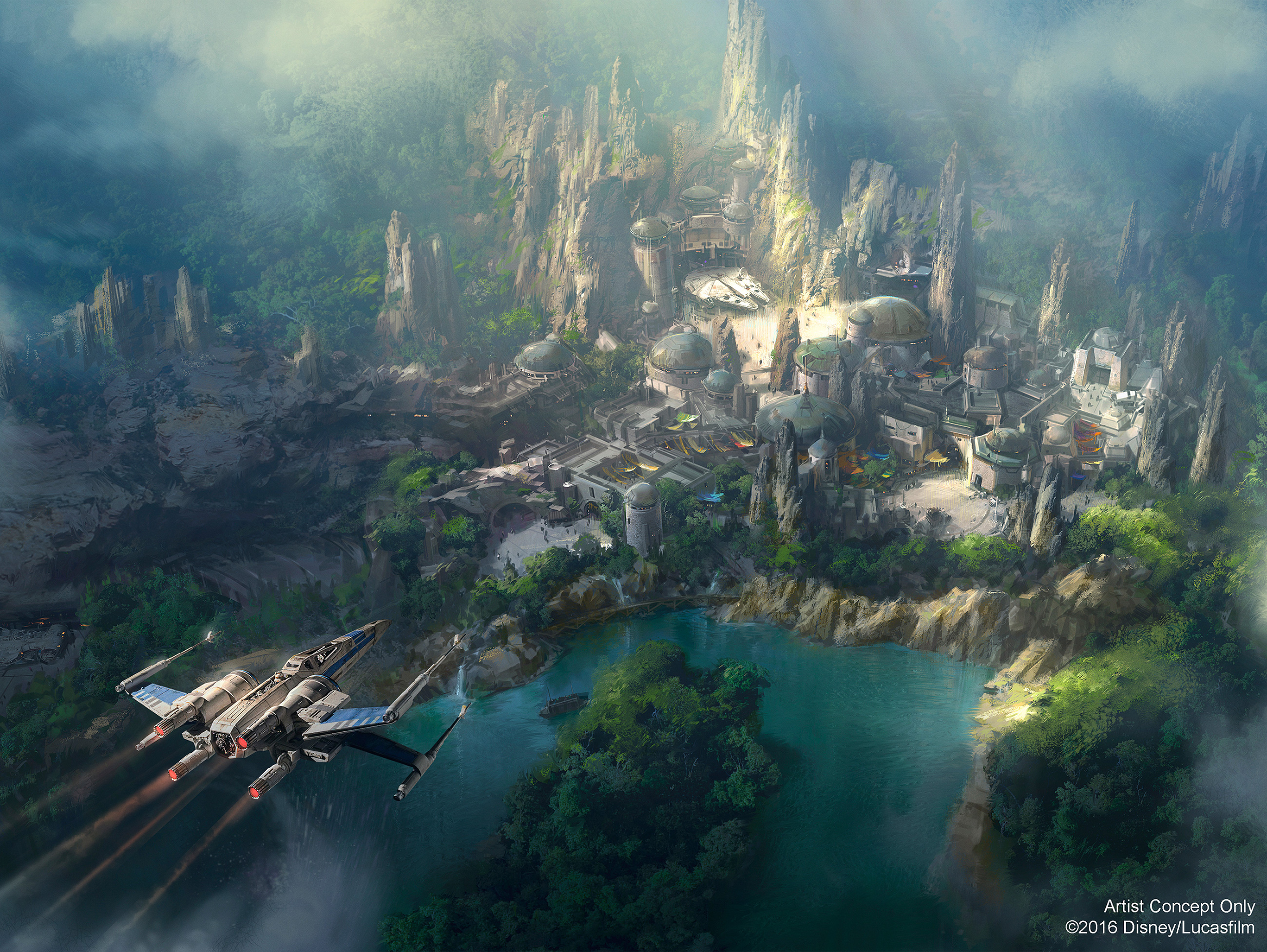 "Disney kündigt ""Star Wars""-Themenpark an"