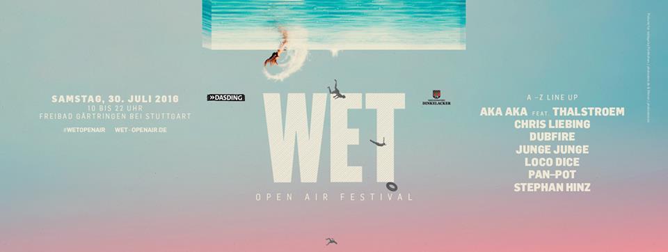 Morgen findet das WET Open Air statt