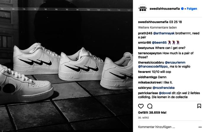 Swedish House Mafia und Nike haben den perfekten Rave-Sneaker designt