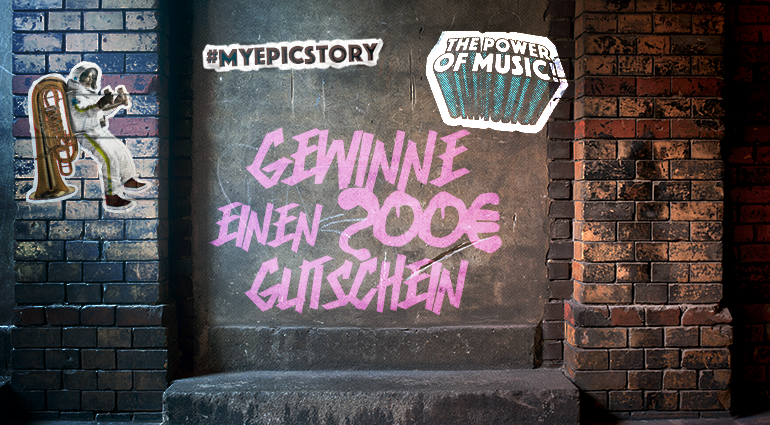 Thomann verlost 200 Euro Gutschein – Erzähle deine #MyEpicStory!
