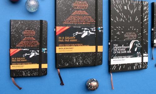 Moleskine Star Wars – Möge die Macht mit deinem Notizbuch sein!