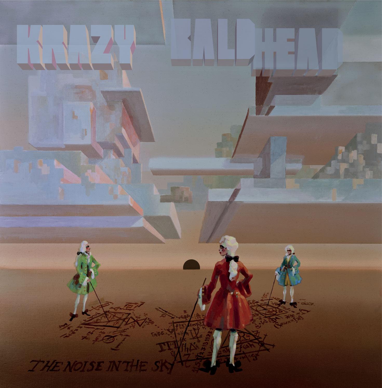 """Krazy Baldhead veröffentlicht """"The Noise in the Sky"""" auf Ed Banger"""