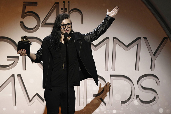 54th Grammy Awards – Skrillex sticht Deadmau5 und Robyn aus