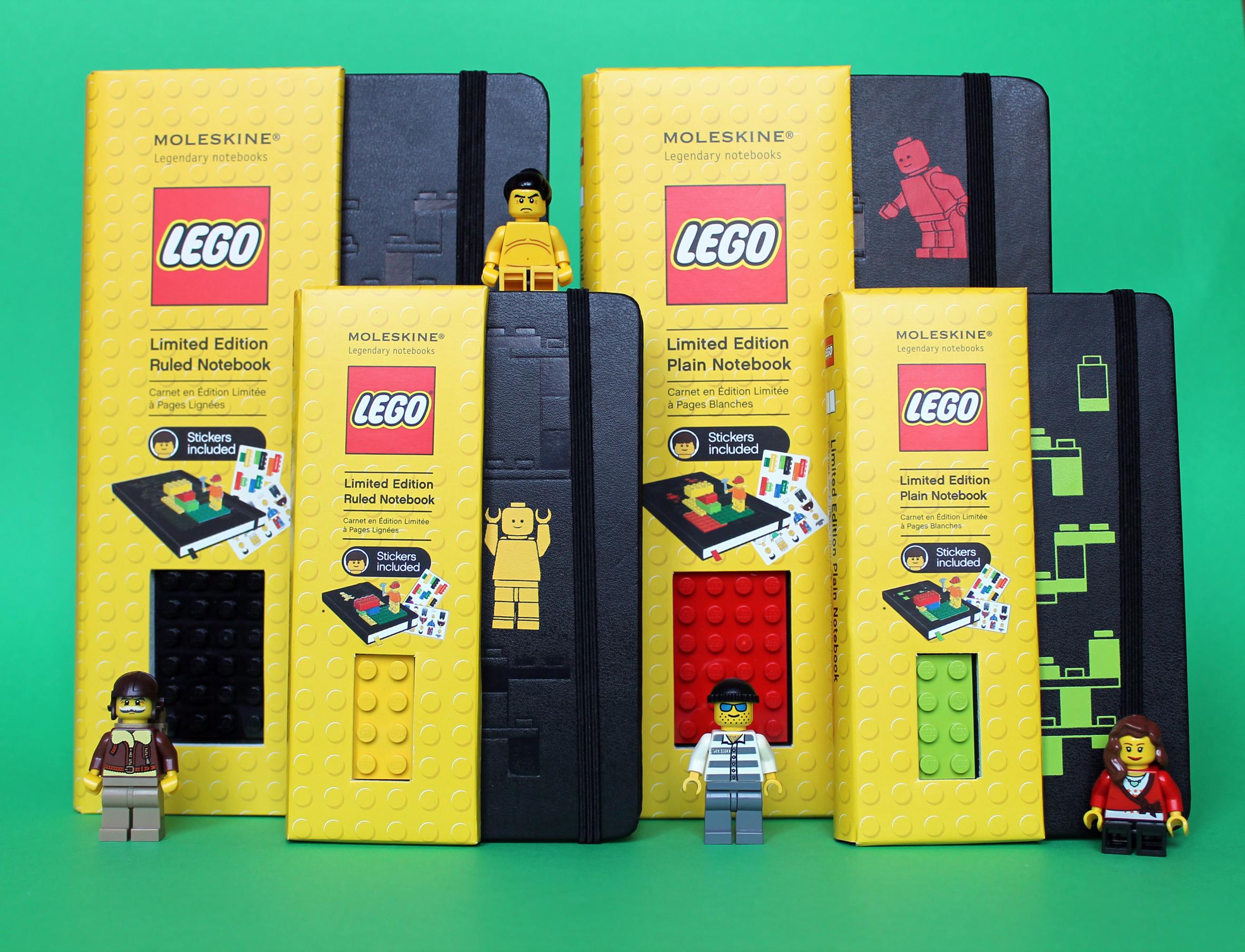 Legondär – Moleskine meets LEGO