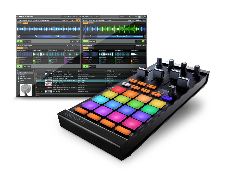 Native Instruments veröffentlicht TRAKTOR KONTROL F1 und TRAKTOR PRO 2.5