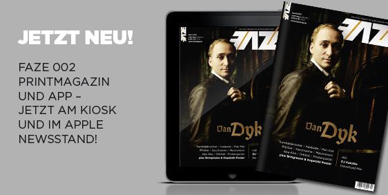 FAZE Magazin 002 – am Kiosk und als eMag im Newsstand