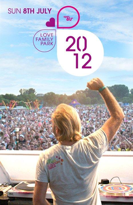 Der Sommer rückt näher: Love Family Park 2012