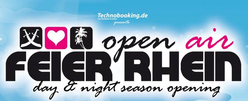 Feier Rhein-Opening verschoben. Neuer Termin: 26. Mai 2012
