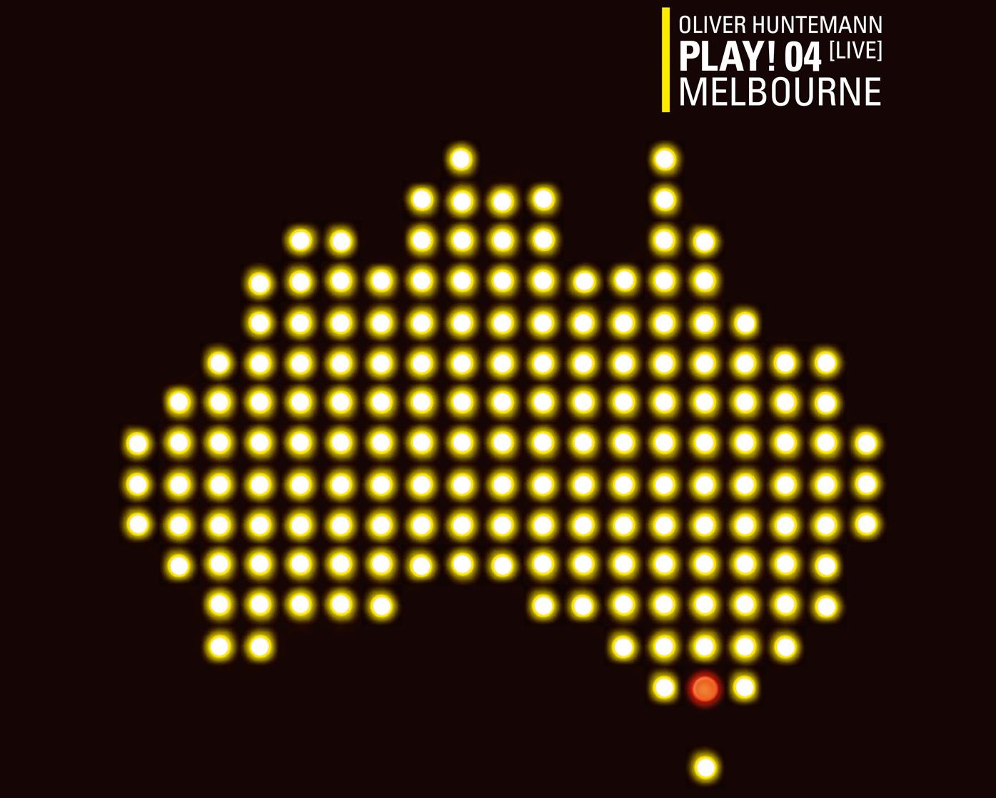 Oliver Huntemann präsentiert den vierten Teil der PLAY!-Serie: Live In Melbourne