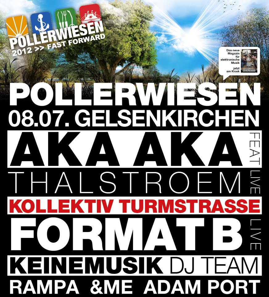 Doppeltes PollerWiesen-Feeling am 8. Juli 2012