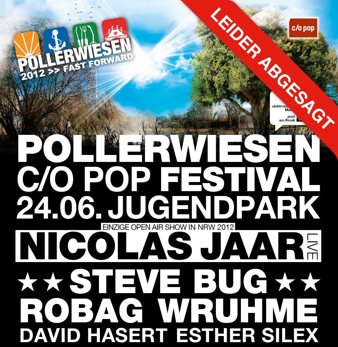 c/o pop PollerWiesen am Sonntag abgesagt!