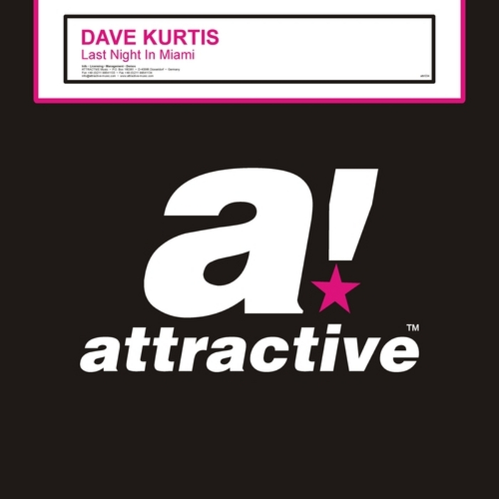 Dave Kurtis – Last Night In Miami (2012) (Attractive)