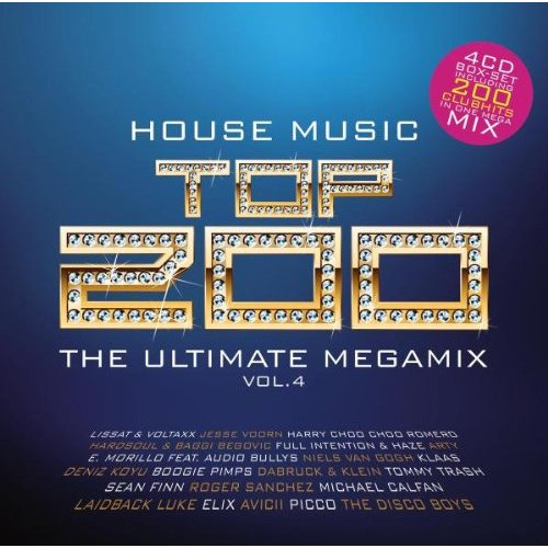 House music top 200 the ultimate megamix vol 4 more for Famous house music