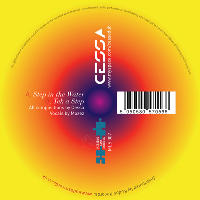 Cessa Step In The Water / Tek A Step (Missing Link Sounds)