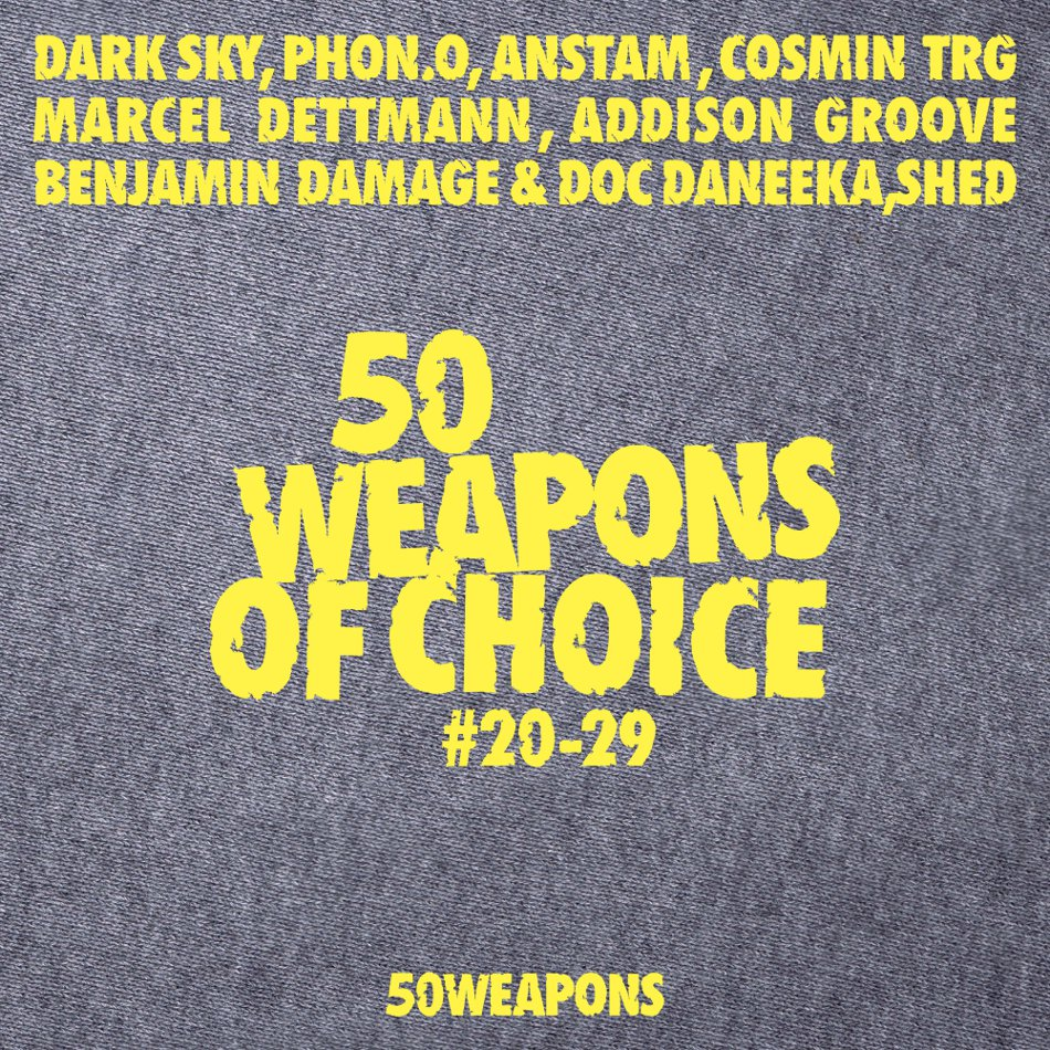 "Dritte Runde der ""50 Weapons Of Choice"""