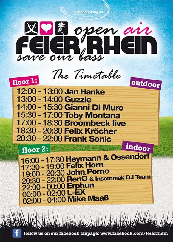 """Feier Rhein am Samstag findet statt! Felix Kröcher will """"Save Our Bass"""""""